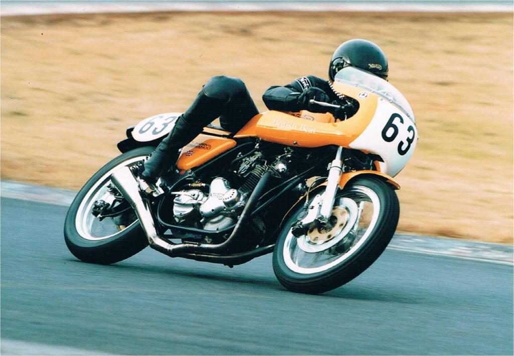 <エントリー>1972 Norton Commando Production Racer